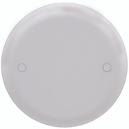 Thomas & Betts CPC4WH White Round Ceiling Box Cover