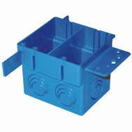 Thomas & Betts A238 Carlon Box Outlet Pvc 2G 4Sq Ent 38In