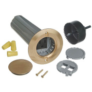 Thomas & Betts E971FBDI-2 Carlon Brass Drop-In Floor Box Kit