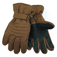 Kinco 1170-L Brown Duck Fabric Ski Gloves Large