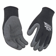 Kinco 1790-L Thermal Lined Black And Gray Latex Palm Large