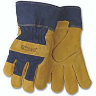 Kinco 1926-L High Durability Split Leather Palm Thermal Lined Protective Gloves Large