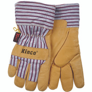 Kinco 1927-XL Premium Pigskin Leather Palm Thermal Lined Gloves Extra-Large