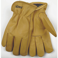 Kinco 98RL-L Golden Cowhide Black Thermal Lined Gloves Large