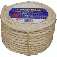 Wellington Cordage 23-210 1/4 Inch By 100 Foot Sisal Rope Coilette