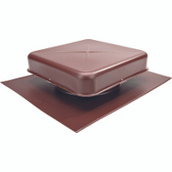 Lomanco 600BR 600 Pan Style Static Roof Ventilator 9-1/2 Inch Aluminum Brown