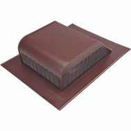 Lomanco 750BR Roof Louver Aluminum Brown