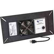 Lomanco PCV1 Power Crawlspace Vent Black