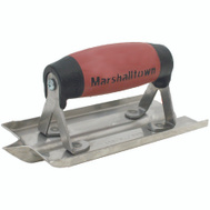 Marshalltown 180D Premier Line 1/2 Inch Rad Stainless Steel Groover 6 By 3 Inch