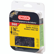 Oregon Cutting D60 16 Inch Chain Saw Cutting Chains