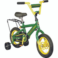 Tomy 34938 John Deere 12 Inch Bike With Training Wheels