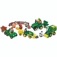 Tomy 34984 John Deere Farm Set Toy 20 Piec John Deer
