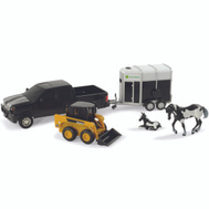 Tomy 37656A John Deere Pick Up Toy Asstmnt Of 4 Johnd