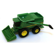 Tomy 46585 John Deere Toy Combine 5In