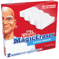 Procter & Gamble 04249 Mr Clean 2 Ct X Power Magic Eraser