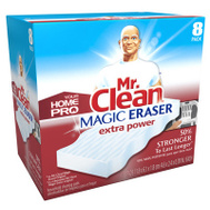 Procter & Gamble 23822 Mr Clean 8 Count, Mr. Clean Home Pro Magic Eraser Extra Power