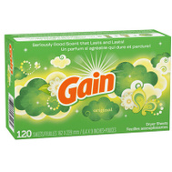Procter & Gamble 43227 120CT Gain Dryer Sheets