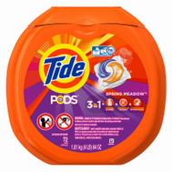 Procter & Gamble 509783 Tide 72CT Spr Mead Tide Pods