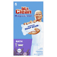 Procter & Gamble 51099 Mr Clean Cleaner Bathroom Scrubber 4 Ct