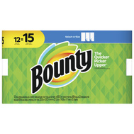 Procter & Gamble 74850 Bounty Paper Towel Bounty Large Roll 12 Pack