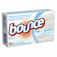 Procter & Gamble 80070 80CT Bounce Fab Sheet