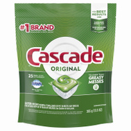 Procter & Gamble 80675 Cascade 20 Dishwasher Detergent 2-In-1 Action Pacs