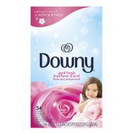 Procter & Gamble 82329 34CT April Downy Sheets
