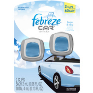 Procter & Gamble 81131 Febreze Fbrz Car Lin&Sky 8/2Ct 2 Pack