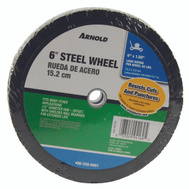 Arnold 490-320-0001 6 By 1 1/2 Inch Steel 50# Diamond Tread