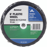 Arnold 490-320-0002 6 By 1 1/2 Inch Plastic 50# Diamond Tread