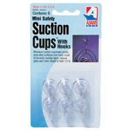 Adams 7000-75-3040 Mini Suction Cup With Hook