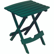 Adams 8510-16-3734 Quik Fold Folding Side Table Hunter Green