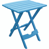 Adams 8510-21-3734 Quik Fold Folding Side Table Pool Blue