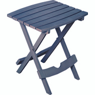 Adams 8500-94-3936 Quik Fold Table Side Folding Bluestone