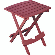 Adams 8500-95-3735 Quik Fold Table Side Folding Merlot