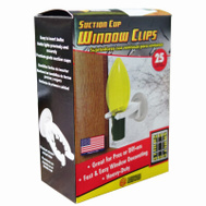 Adams 1560-99-1630 Suction Cup Window Clip