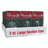 Adams 6000-74-1043 2CT 2- 1/2 Inch Suction Cups
