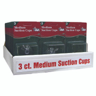 Adams 6500-74-1043 Cup Suction Medium 3 Ct 3 Pack