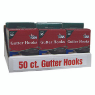 Adams 2460-99-1645 Hook Gutter For Lights 50Ct 50 Pack