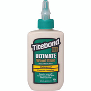 Franklin 1412 Titebond Wood Glue Waterproof 4 Ounce Titebond Iii