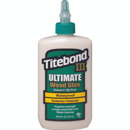 Franklin 1413 Titebond Ultimate Waterproof Wood Glue 8 Ounce Interior And Exterior