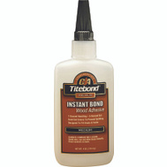 Franklin 6212 Instant Bond Wood Adhesive Medium 4 Ounce