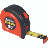 Lufkin L725MAG Tape 1 By 25 Foot Magnetic Endhook