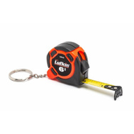 Lufkin CS8506 Hi-Viz 6 Foot Pocket Size Keychain Tape Measure Orange And Black