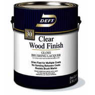 Deft PPG 010-01 Clear Gloss Brushing Lacquer Interior Gallon