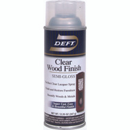 Deft PPG 011-13 Clear Semi Gloss Wood Finish Lacquer Spray
