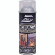 Deft PPG 020-13 Defthane Clear Gloss Polyurethane Spray
