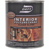 Deft PPG 221-04 Gloss Interior Polyurethane Quart Oil Based