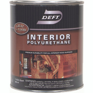 Deft PPG 224-04 Semi Gloss Interior Polyurethane Quart Oil Based