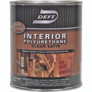 Deft PPG 226-04 Satin Interior Polyurethane Quart Oil Based
